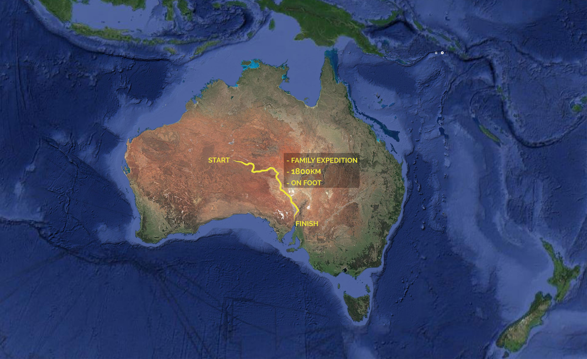 The Route – Heading Across the Outback